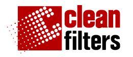 FILTRO DE AGUA  Clean