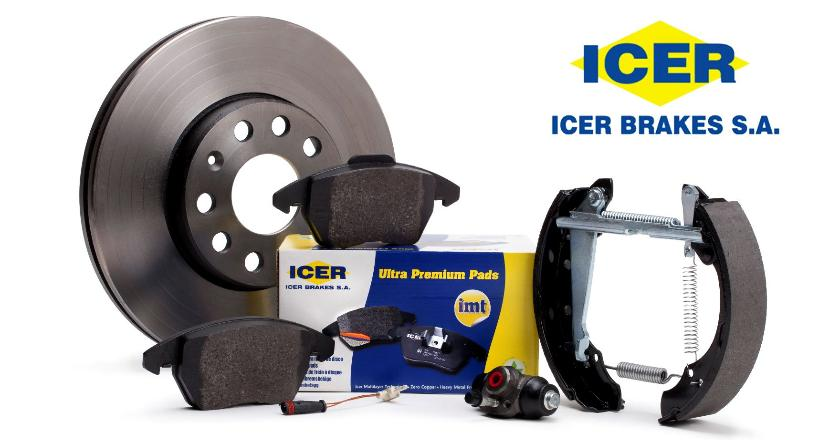 ¡Novedad! ICER BRAKES, gama de productos de fricción.